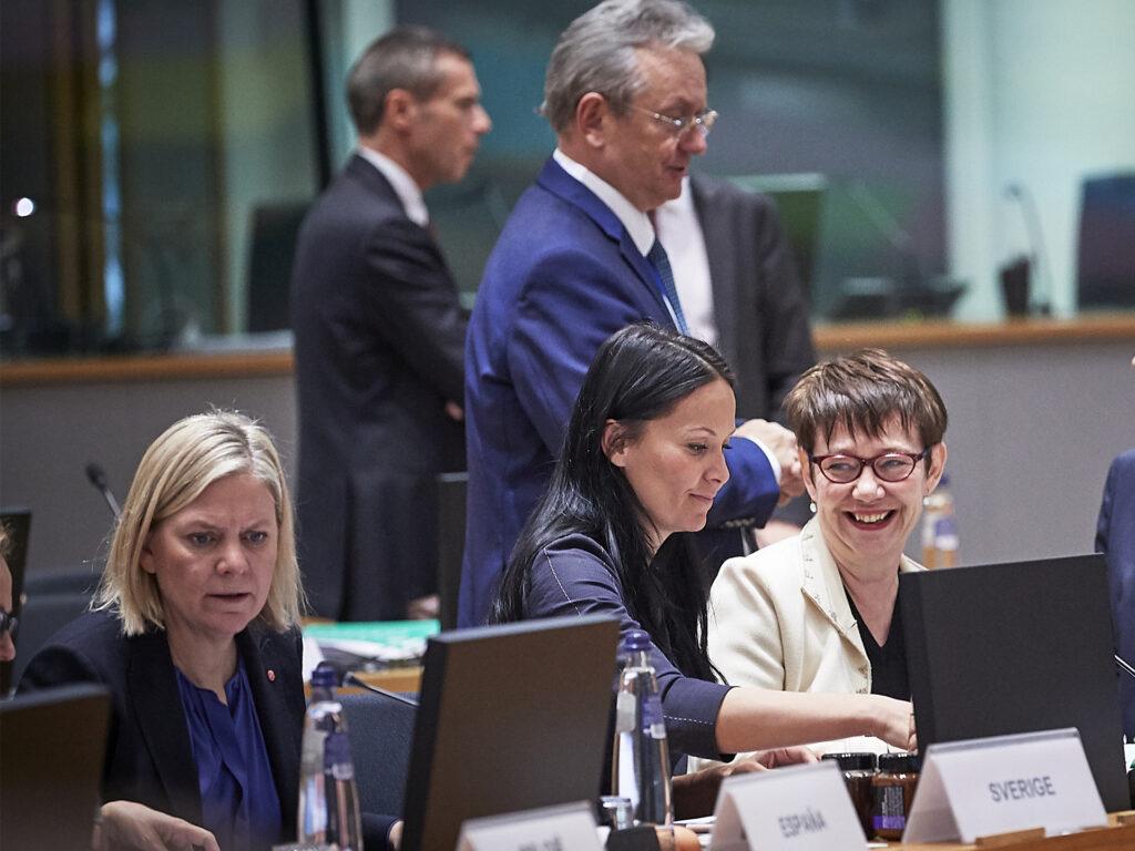 Finansministermöte i EU