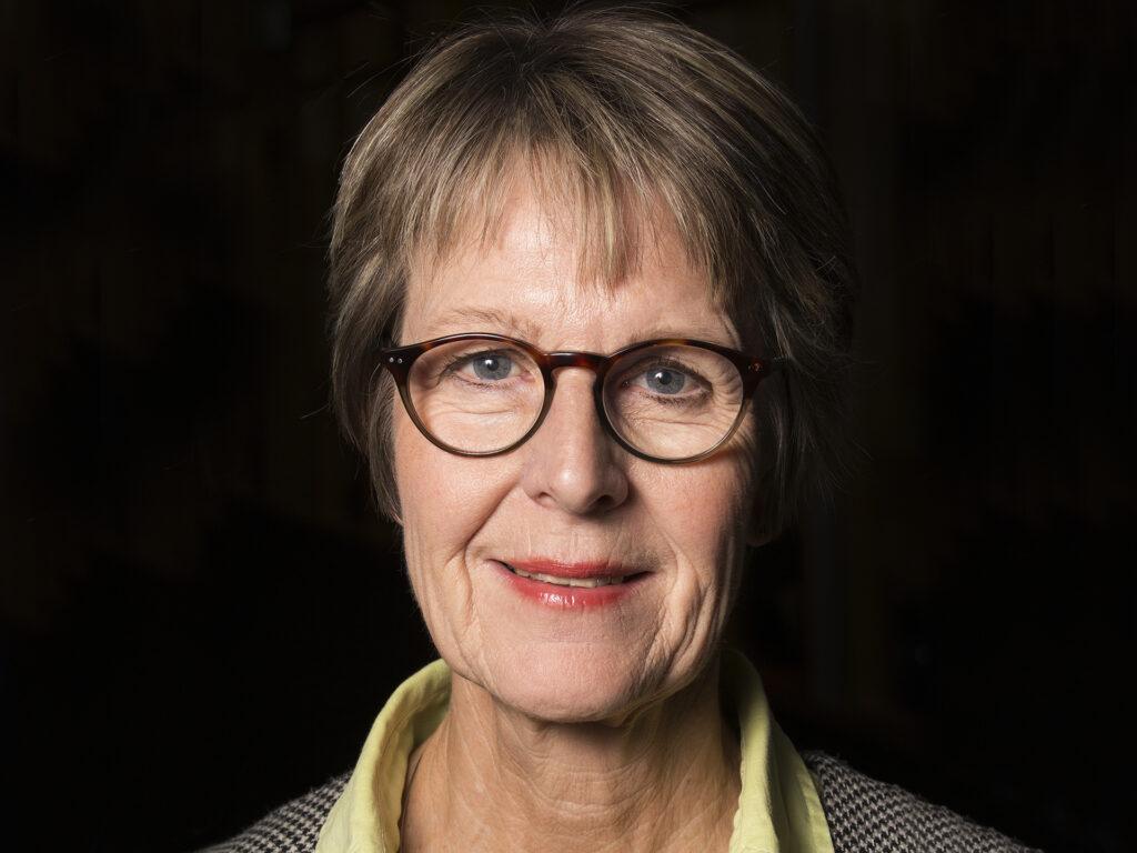 Porträtt av Ann-Sofie Lasell