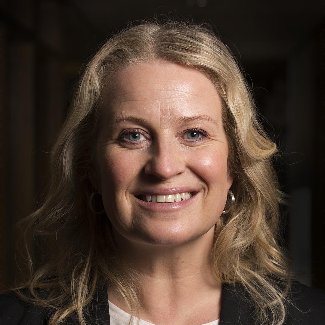 Foto på Åsa Beckius