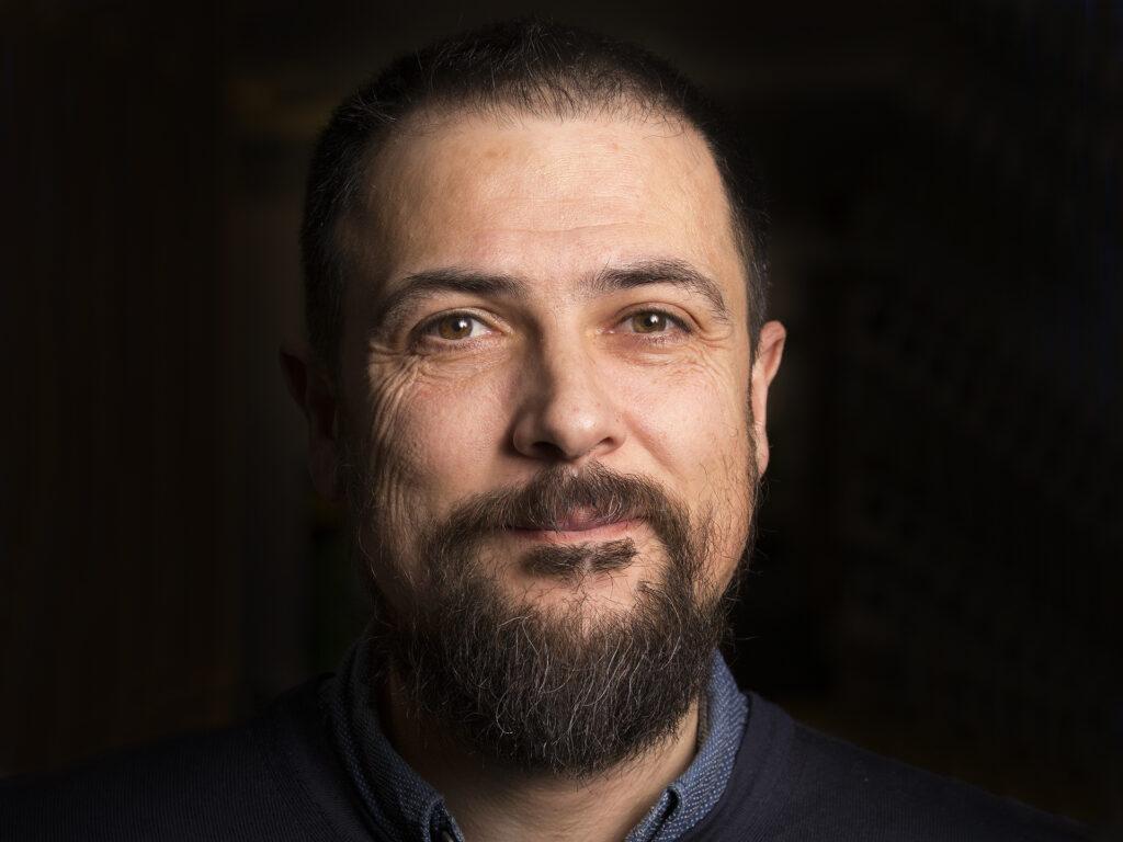 Porträtt av Domingo Torres Santos