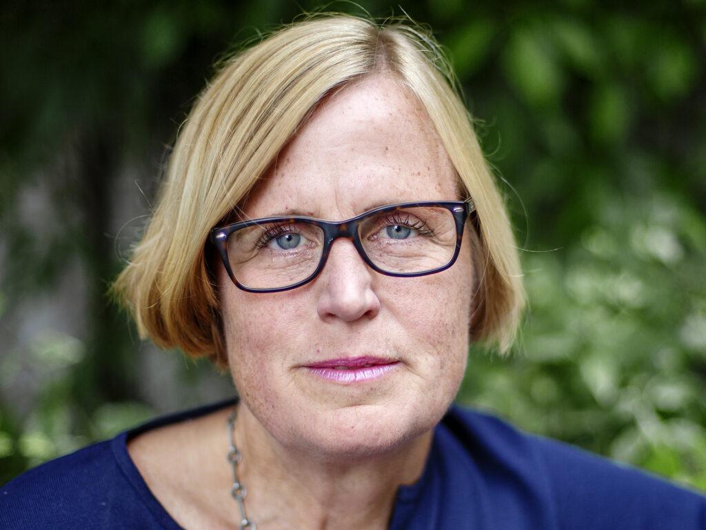 Porträtt av Lena Ingelstam