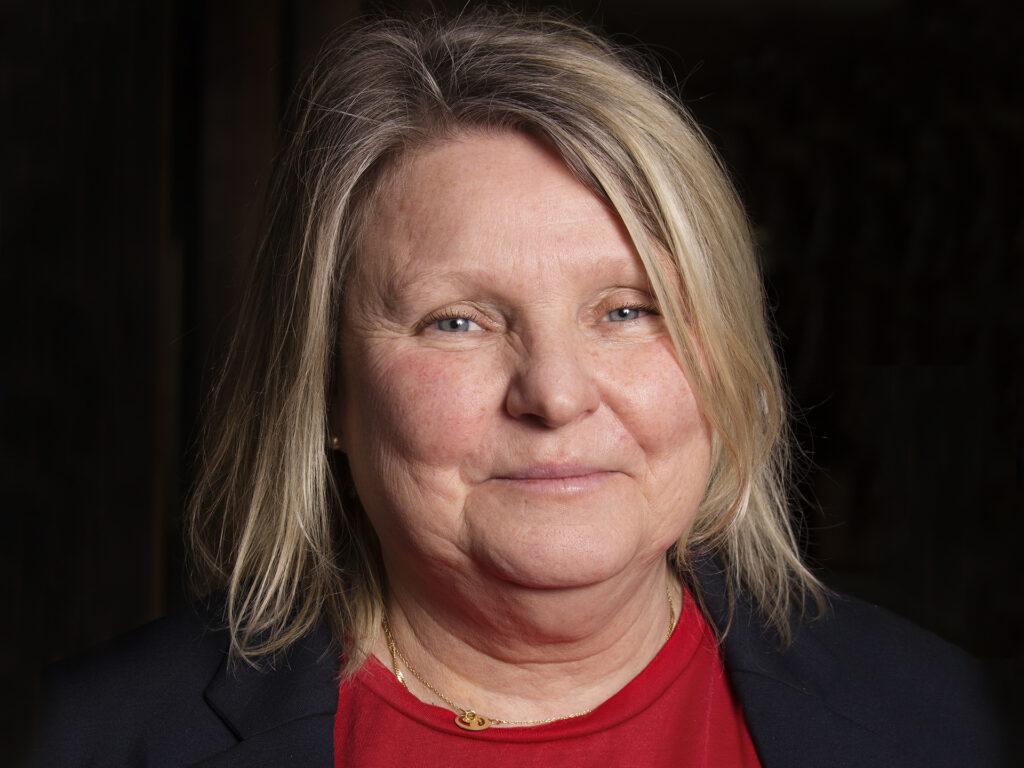 Porträtt av Lena Lundin