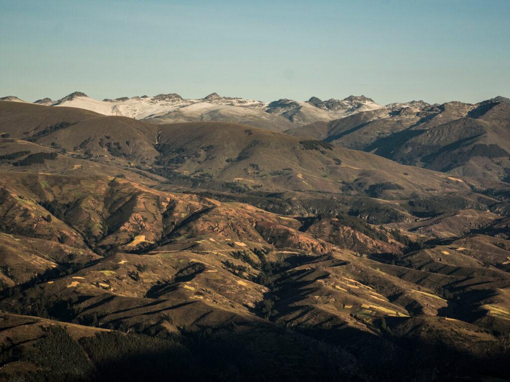 Utsikt över berg
