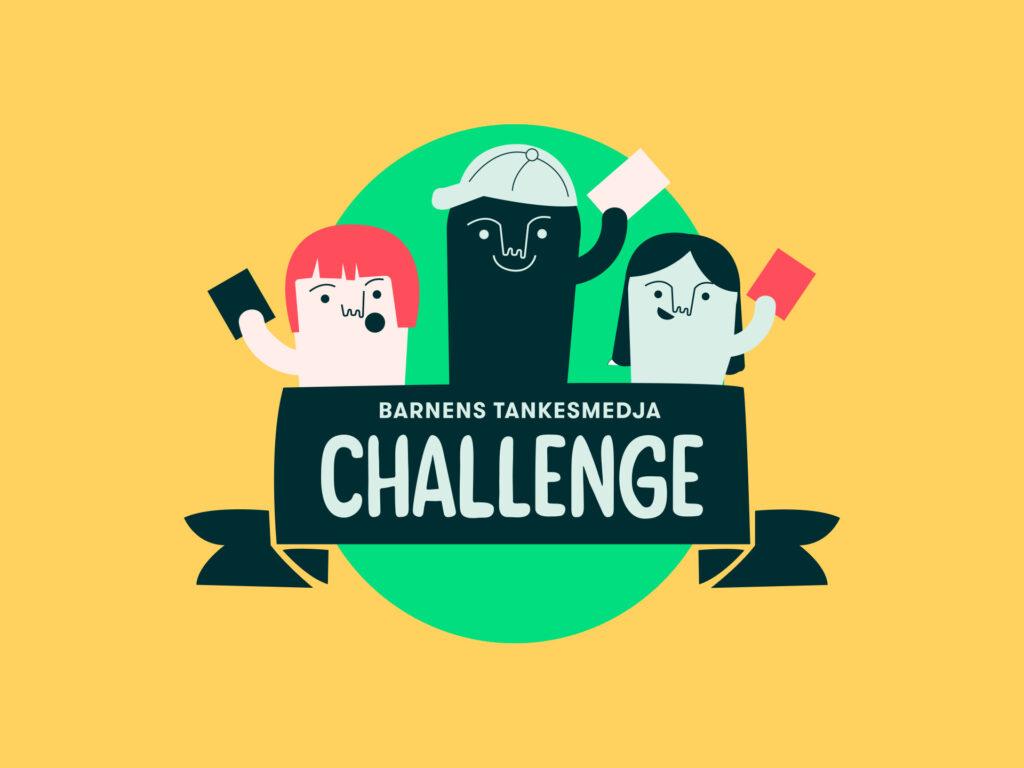 Bild på Barnens tankesmedja Challenge-märket