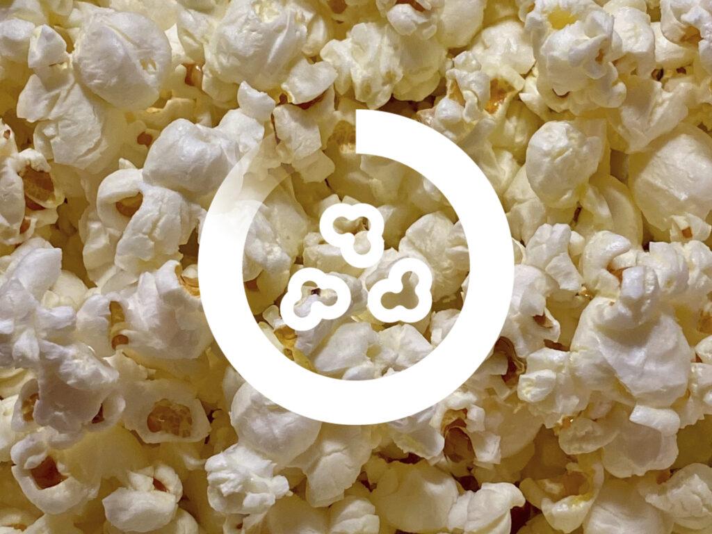 Bild på popcorn