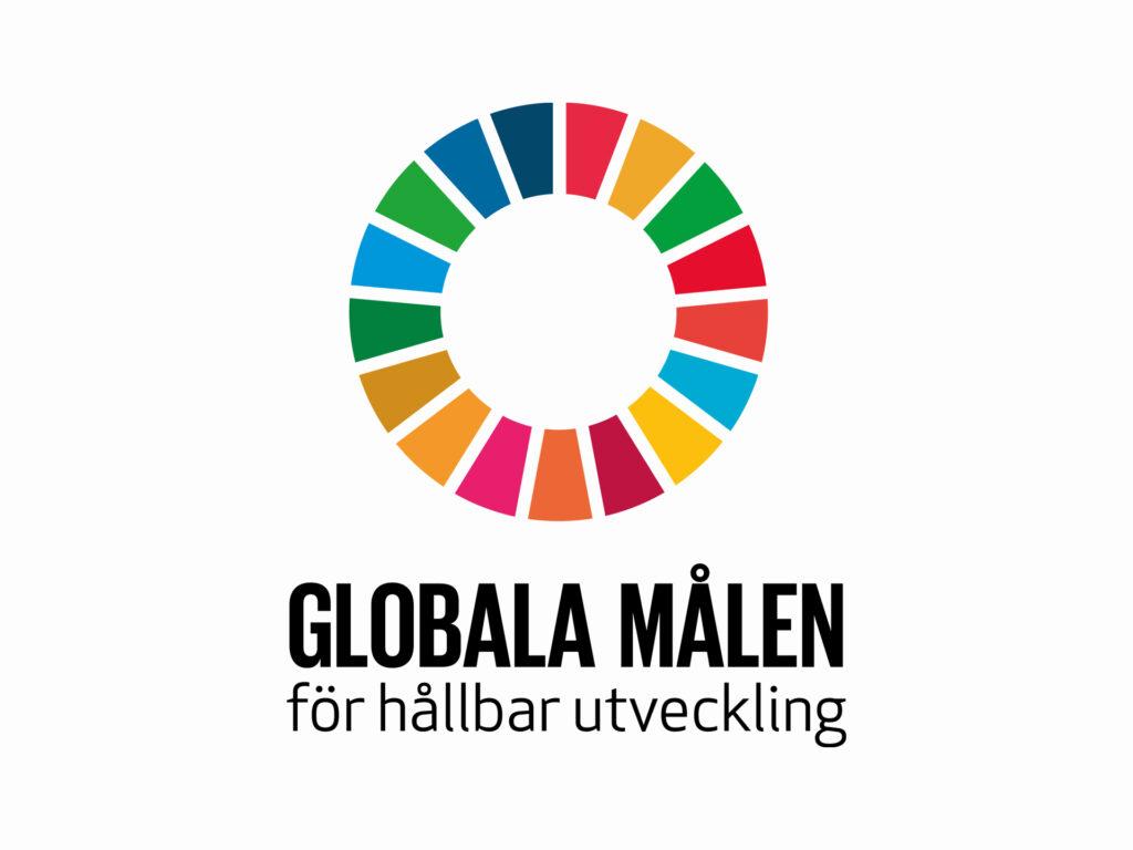 Logotyp för Globala målen för hållbar utveckling