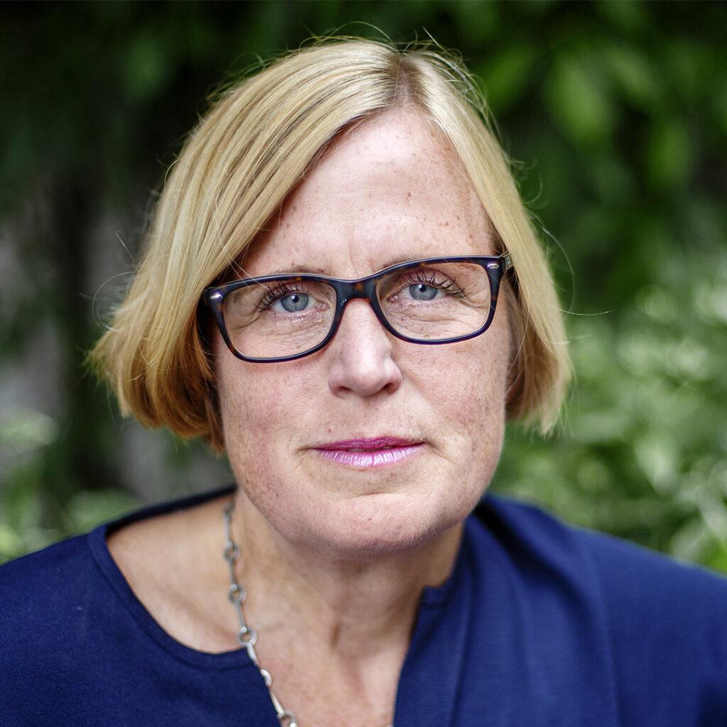 Porträtt Diakonias generalsekreterare Lena Ingelstam