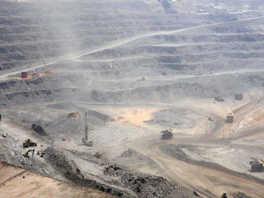 Stort gruvområde i Zambia