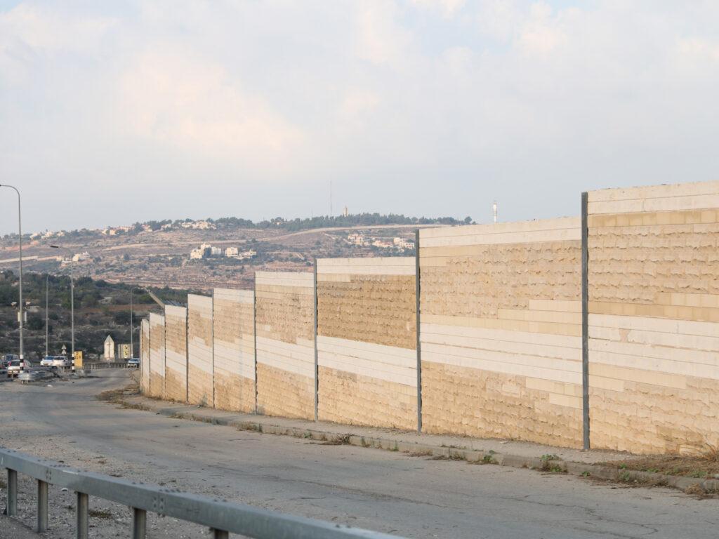 Muren mellan Israel och Palestina