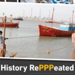 Foto av fiskebåt på rapportomslag