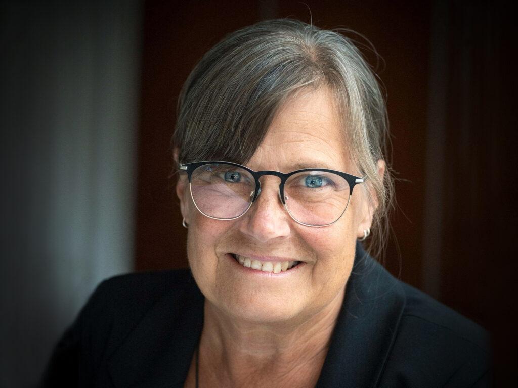 Ett porträtt av Karin Wiborn