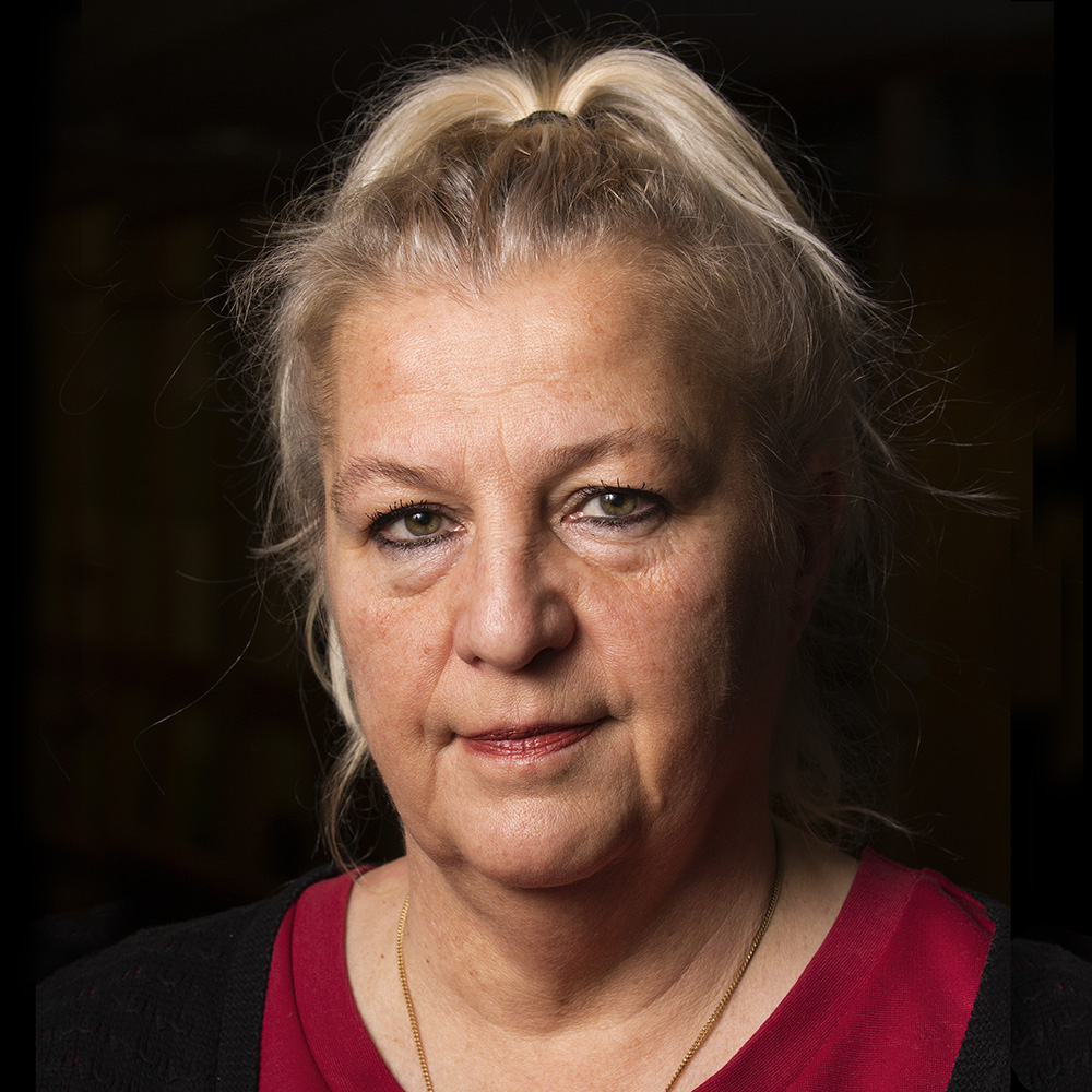 A portrait of Annika Andersson