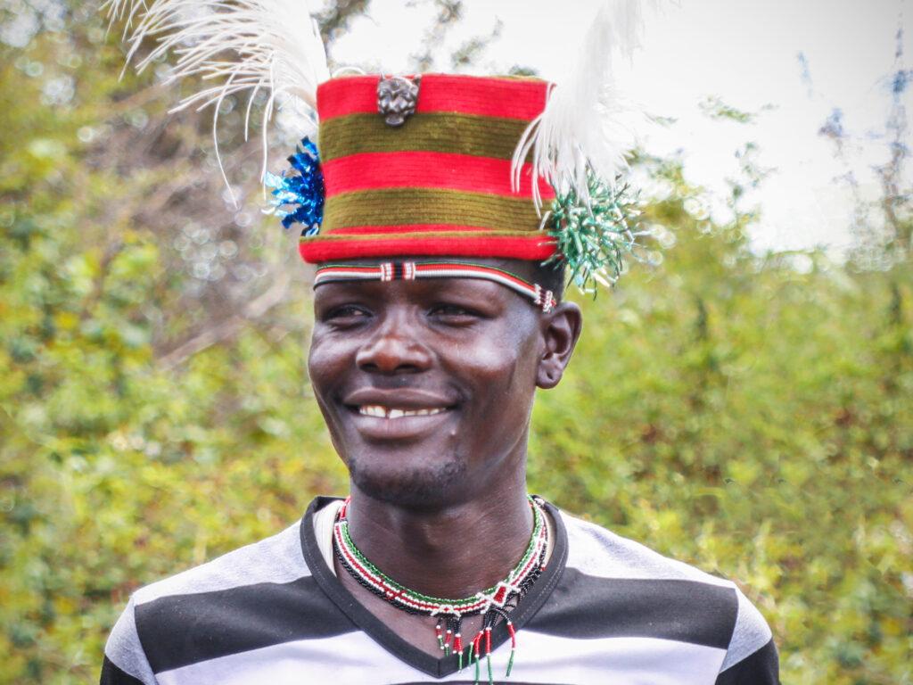 Farmer in Kenya