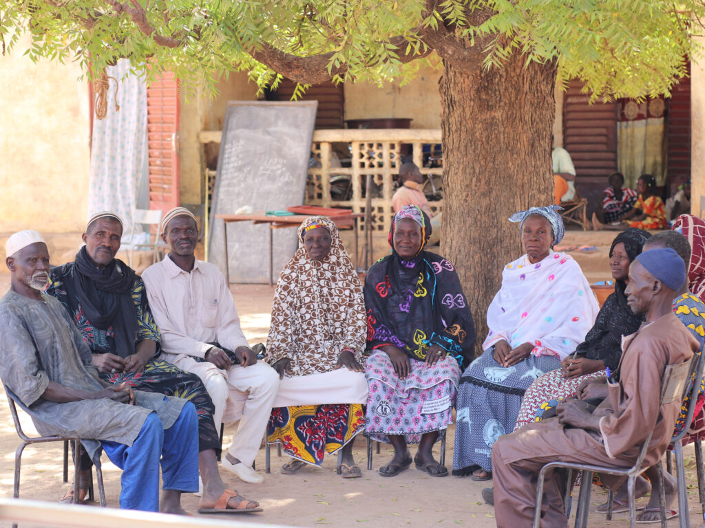 Members of political plattform Mali