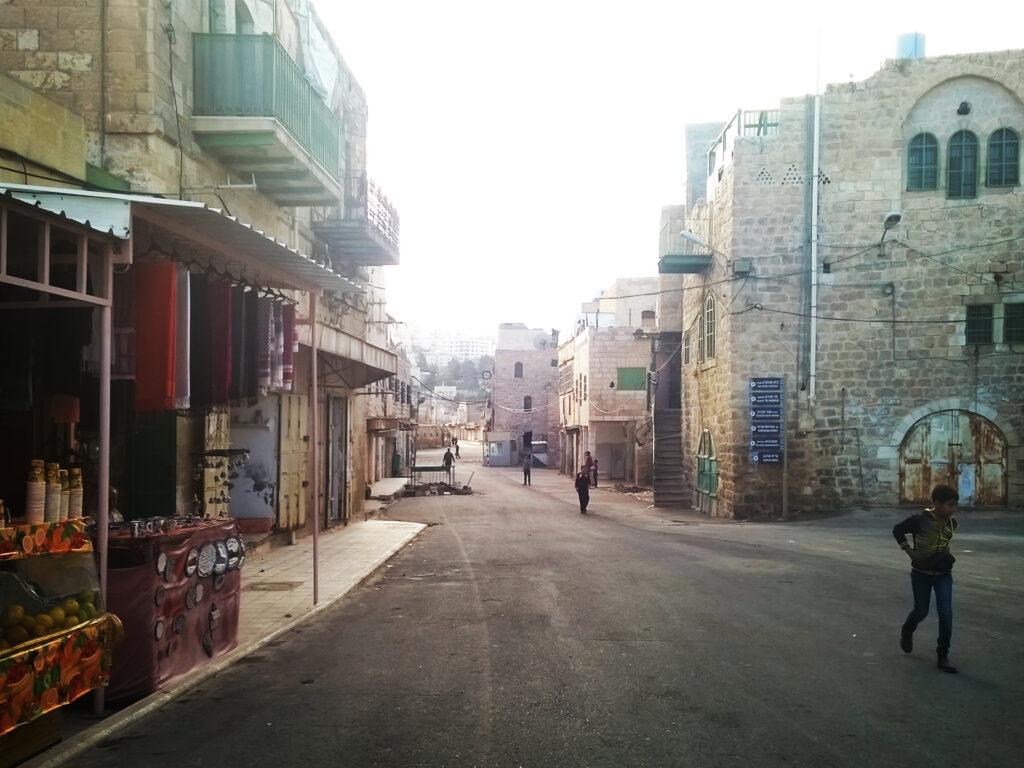 A street view in Jerusalem