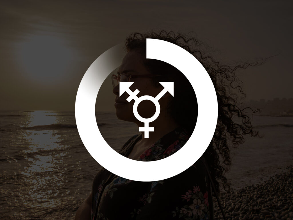 A graphic image with the Diakonia circle progressbar, inside is the symbol of equality.